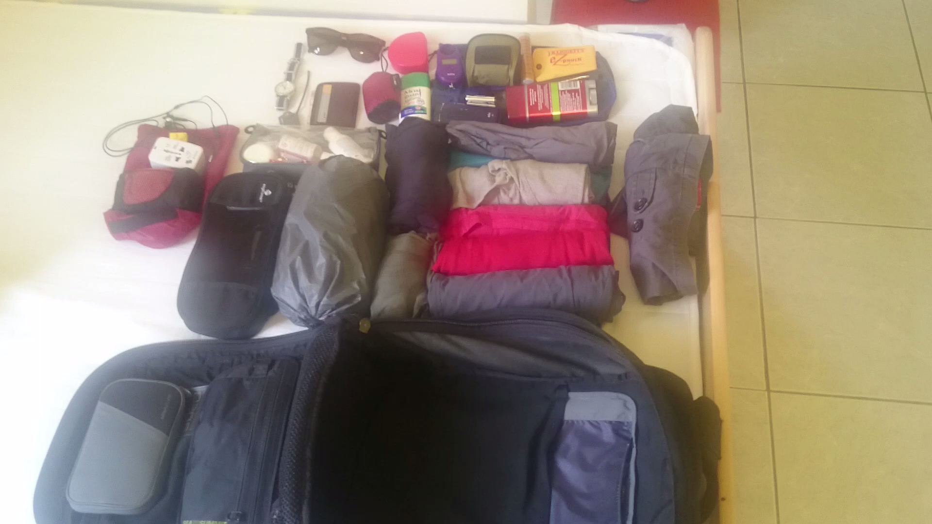 how to pack a 7 kg bag