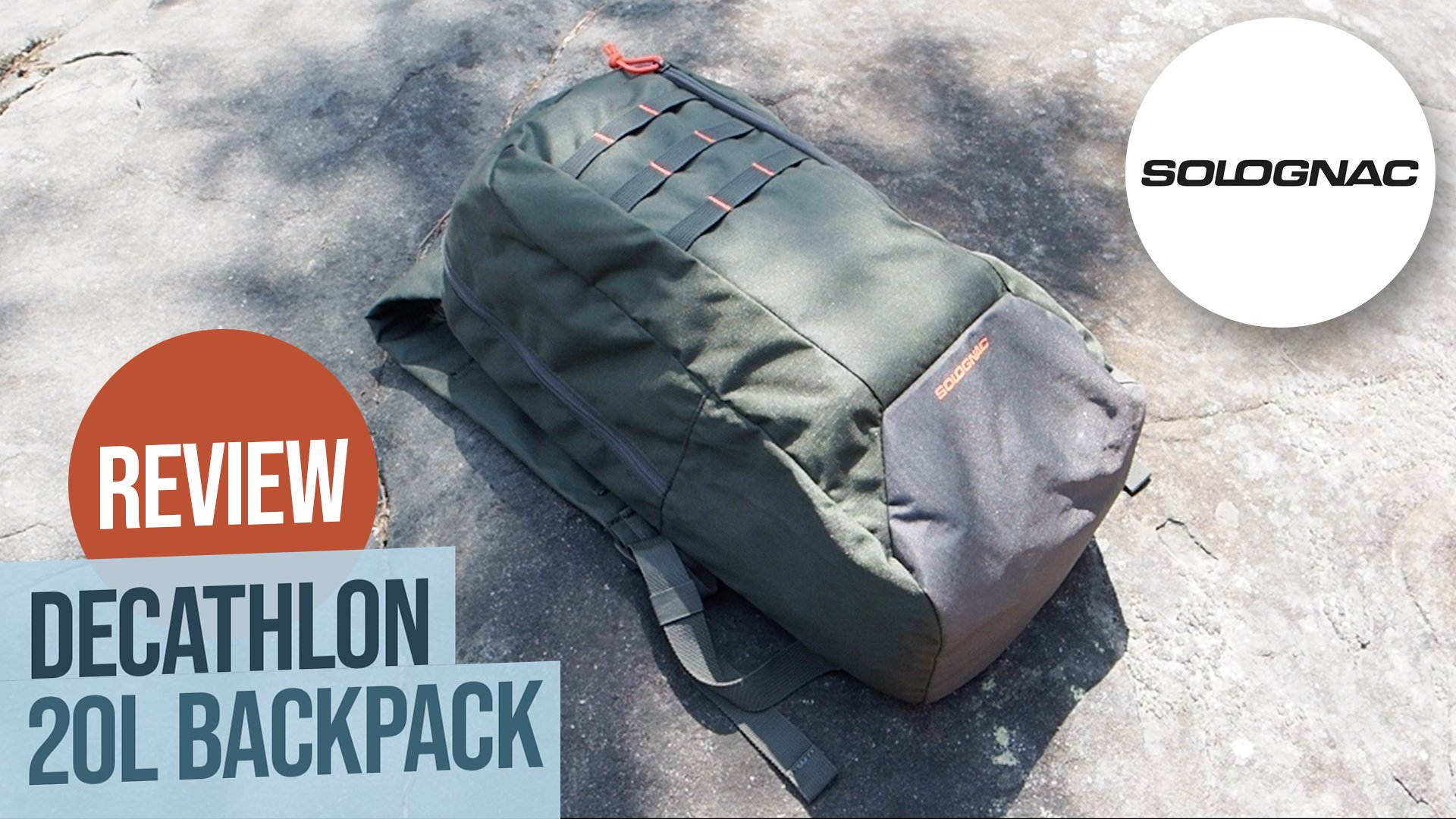 Solognac Backpack Review