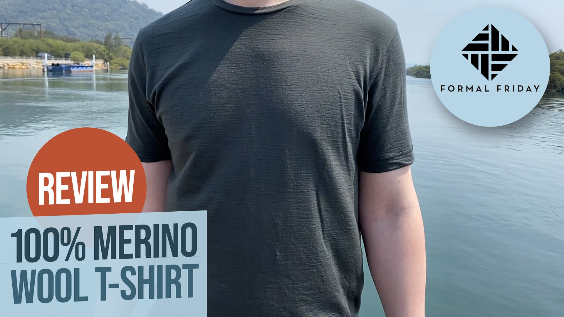 Formal Friday Merino T-shirt Review